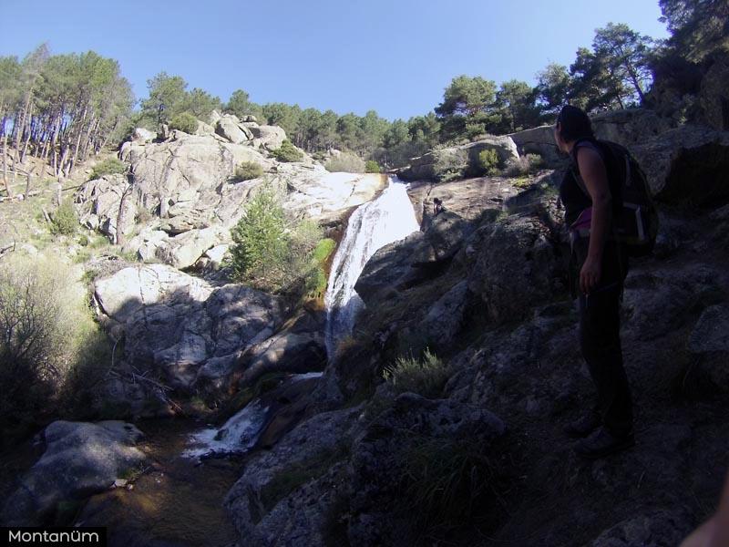 cascada del hornillo,robledondo
