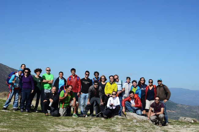 Todo el grupo!  Foto de www.tuscasasrurales.com